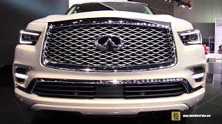 Download 2018 Infiniti QX80 - Exterior and Interior Walkaround - 2017 LA Auto Show Video