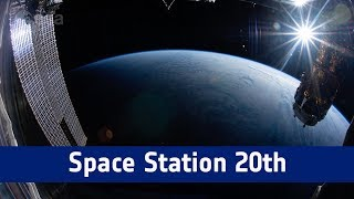 Download Space Station 20th: longest continuous timelapse from space Video