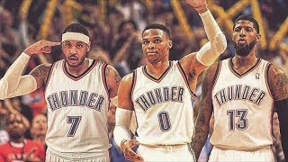 Download Carmelo Anthony Traded to Thunder! OKC Creates Big 3! NBA Off Season 2017 Video
