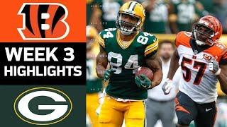 Download Bengals vs. Packers | NFL Week 3 Game Highlights Video
