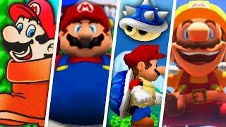 Download Evolution of Funny Super Mario Power-Ups (1988 - 2018) Video