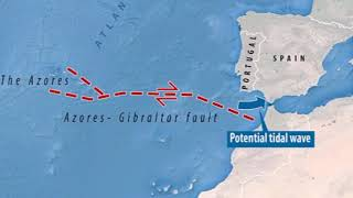 Download Scientists fear Spain & Portugal set to be struck by giant Tsunami Video