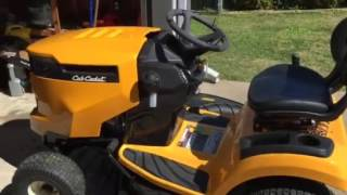 Download Cub Cadet XT1 LT50 Lawn Tractor. Starter problems first day of use Video