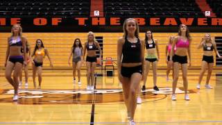 Download OSU Dance Team Tryout Routine Video