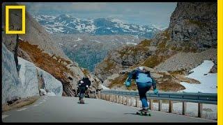 Download Fearlessly Longboarding Down Norway's Steep Mountain Roads | Short Film Showcase Video