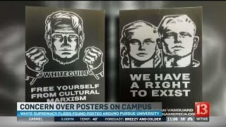 Download Concern over posters at Purdue Video