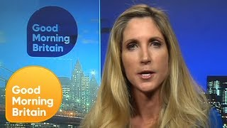 Download Ann Coulter Claims Child Migrants Detained at US Borders Are 'Child Actors' | Good Morning Britain Video