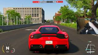 Download The Crew 2 - Driving Detroit to Chicago with G920 Steering Wheel Video