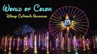 Download 2018 Disney California Adventure World of Color Complete Show Low Light HD Disneyland Resort Video