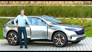 Download Mercedes EQ REVIEW DRIVING Mercedes Electric Car 2017 New Mercedes Concept Paris 2016 CARJAM TV Video