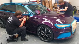 Download Audi RS6 Paint Protection Film & Detail by Signature Group Video