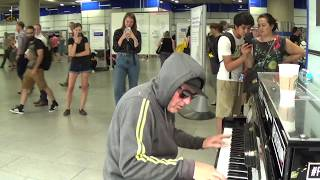 Download Hoody Calms Stressed Crowd With Pulsating Piano Video