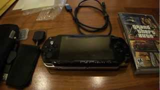Download Unboxing the PSP 1000 with an accessory pack Video