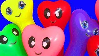 Download Воздушные Шарики с водой Учим цвета с шариками Развивающая Песня про шарики Лопаем Шарики с водой Video