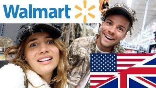 Download 🇬🇧 BRITS EXPLORE WALMART! | First Time in Walmart! 🇺🇸 Video