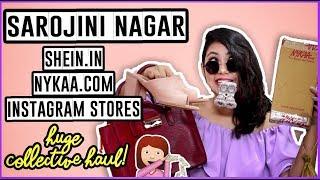 Download SAROJINI NAGAR HAUL | CHANDNI CHOWK, NYKAA & MORE : Huge HAUL | MARKETS IN DELHI Video