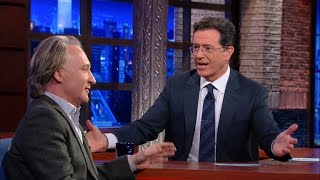Download Stephen Attempts To Convert Bill Maher Video