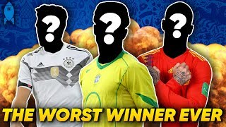 Download The WORST Player To Win The World Cup Is… | #StatWars Video