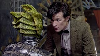 Download Silurian Unmasked & Interrogated - The Hungry Earth - Doctor Who - BBC Video