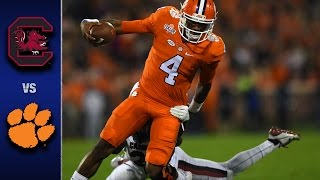 Download Clemson vs. South Carolina Football Highlights (2016) Video