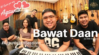 Download Bawat Daan | (c) Ebe Dancel | #AgsuntaJamSessions ft. Clara Benin Video