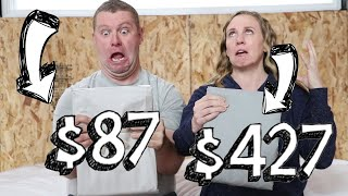Download CHEAP vs. EXPENSIVE BED SHEETS - Is There a Difference? Video