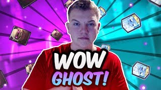Download GHOST IS OP! 12 Win Golem Royal Ghost Deck for Grand Challenges - Clash Royale Video