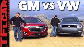 Download Will Your Family Fit? 2018 Chevy Traverse vs VW Atlas Review Video