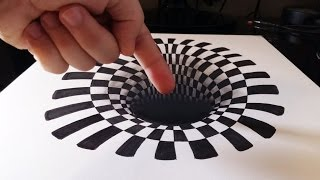 Download Cómo dibujar un INCREÍBLE agujero/hoyo 3D | How to draw a 3D hole | ILUSIÓN ÓPTICA ANAMÓRFICA 3D Video