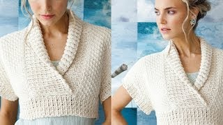 Download #6 Textured Top, Vogue Knitting Early Fall 2013 Video