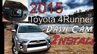 Download Dash Cam install - Rexing V1- 2015 Toyota 4runner Video