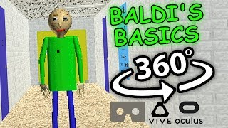 Download Baldi's Basics 360: Baldi's Basics in Education and Learning 360 VR Video