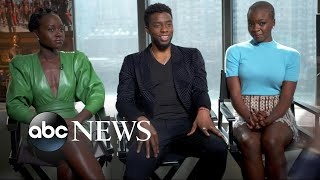 Download 'Black Panther' stars on the power of telling a story from a black perspective Video