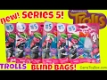 Download NEW Dreamworks Trolls Series 5 Blind Bags Surprise Toys Characters Names Opening Toy Poppy Creek Video