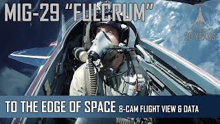 Download MIG-29 High Altitude - 8-Camera view + Flight Data Video