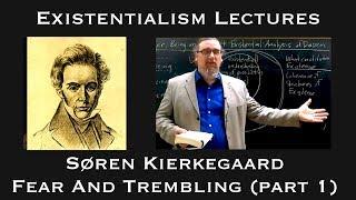 Download Soren Kierkegaard   Fear and Trembling (part 1)   Existentialist Philosophy & Literature Video