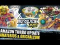 Download VAZOU! ORICHALCUM O3 AMATERIOS A3 KRAKEN K4 TYPHON T4 E MUITO MAIS! BEYBLADE BURST TURBO NEWS Video
