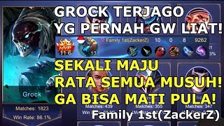 Download GAMEPLAY GG! MAIN GROCK 1800 MATCH WR 86% ? GILAAA- PAPI ZACKERS! Video