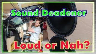 Download Sound Deadener, Helpful or Hurtful for SPL Video
