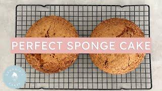 Download How To Make A Perfect Sponge Cake | Georgia's Cakes Video