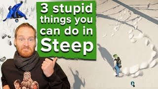 Download 2 stupid things you're really not supposed to do in Steep (and 1 you kind of are) Video