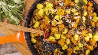 Download Butternut Squash, Sweet Sausage, Gnocchi and Sage Video
