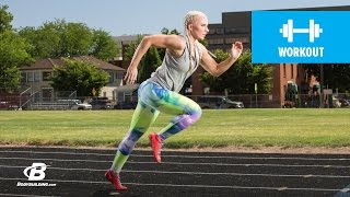 Download Sprints And Plyos Track Workout | Samantha Ann Leete Video