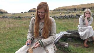 Download Tablet Weaving at the Iron Age Farm (Jernaldergården) in Stavanger Video