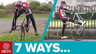 Download 7 Magnificent Ways To Dismount Your Bicycle Video