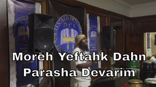 Download Shabbat Teachings 8-10-19 Morning | 9 Av, 5780 | Parasha Devarim | Moreh Yeftahk Dahn Video