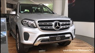 Download Mercedes-Benz GLS-Class 400 4MATIC 2017 | Real-life review Video
