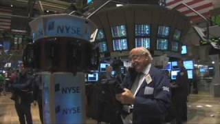 Download Wall Street trader's NYSE tour Video