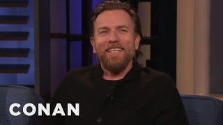 Download Ewan McGregor On Reprising Obi-Wan & Why Lightsabers Need Hilts - CONAN on TBS Video