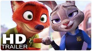 Download ZOOTOPIA All Trailer | Disney Movie 2016 Video